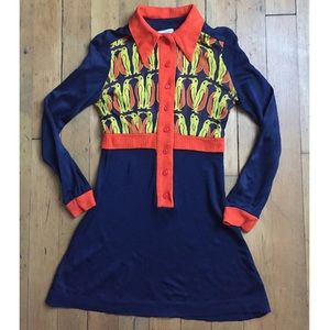 Absolutely adorable 1970s penguin novelty dress